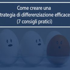 strategia di differenziazione
