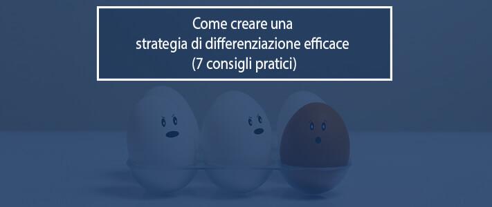 strategia di differenziazione